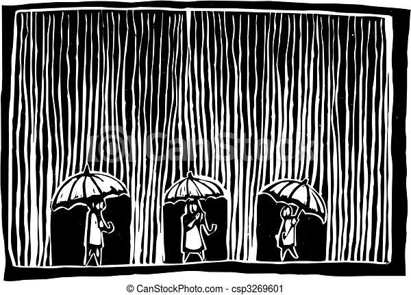 jour pluvieux - csp3269601