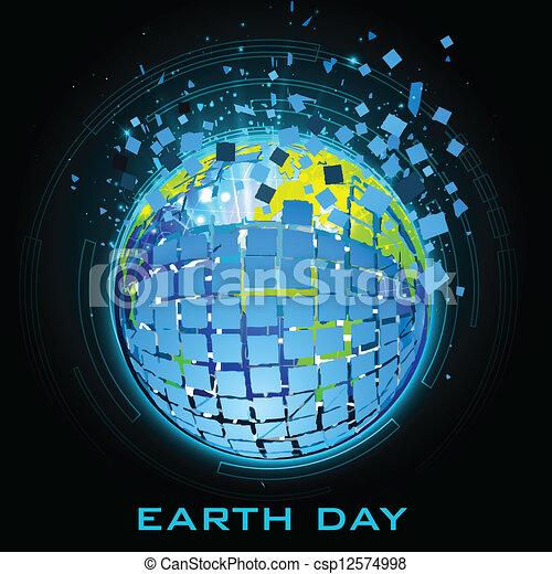 jour terre - csp12574998