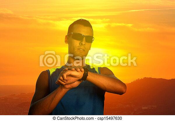 Joven atleta - csp15497630