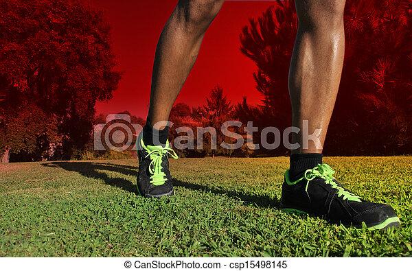 Joven atleta - csp15498145