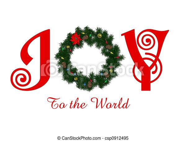 Joy to the World - csp0912495