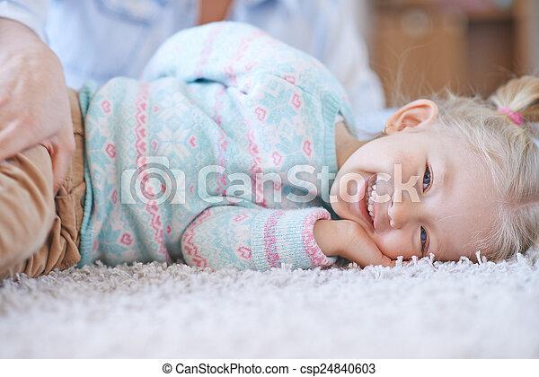 joyeux, enfant - csp24840603
