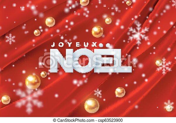 Joyeux noel. - csp63523900