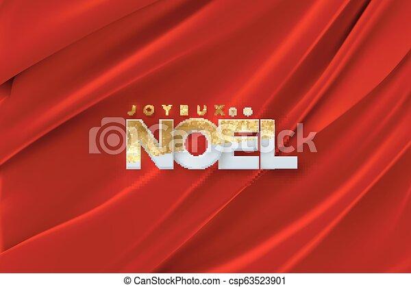 Joyeux noel. - csp63523901