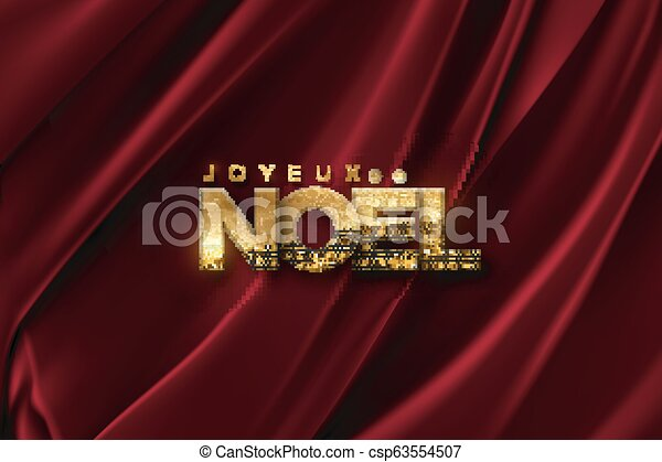 Joyeux noel. - csp63554507
