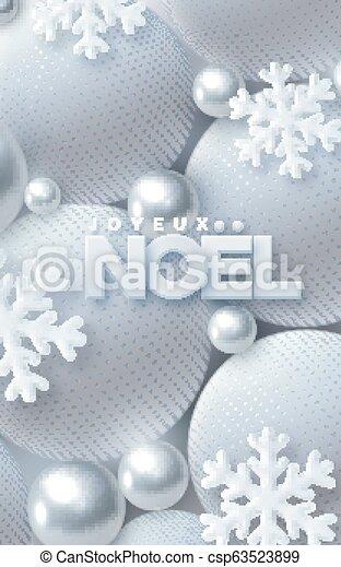 Joyeux noel. - csp63523899