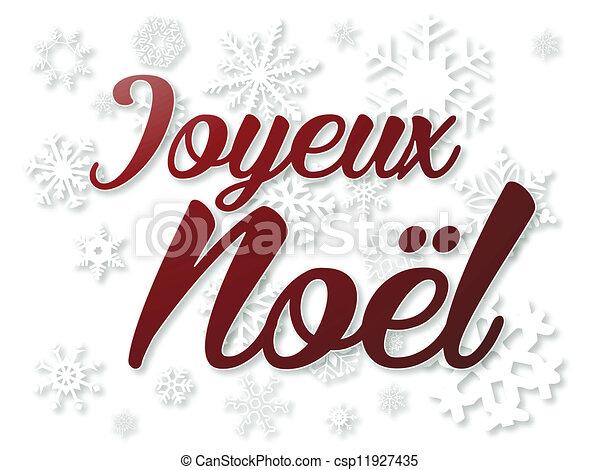 Joyeux Noel - csp11927435