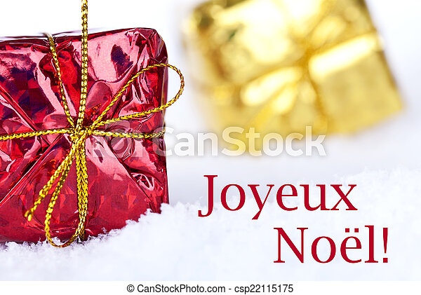 Joyeux no?l in the snow. The french christmas greetings joyeux no?l ...