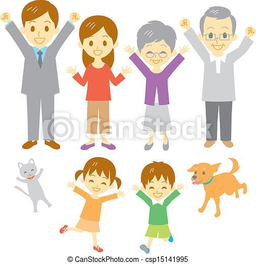 Joyful family - csp15141995
