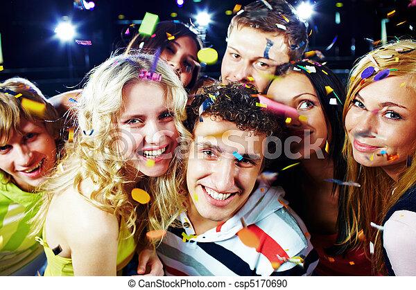Joyful friends - csp5170690