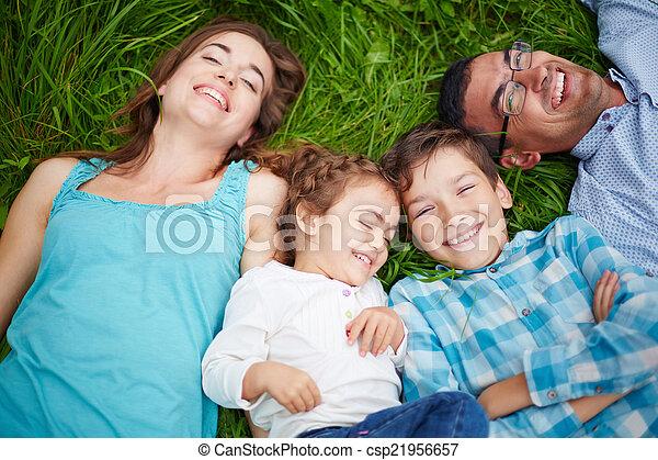 Joyful people - csp21956657
