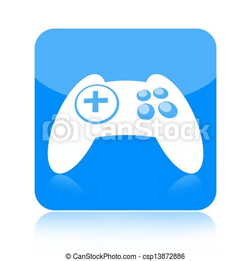 Joystick icon - csp13872886
