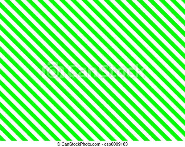 Jpg Green Diagonal Stripe - csp6009163