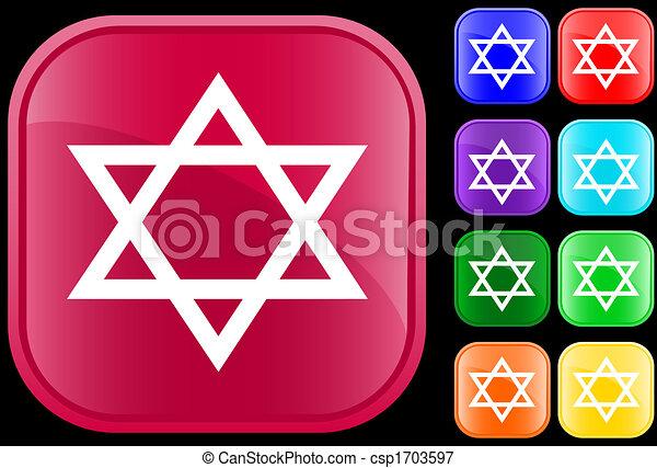 Judaism Symbol Star Of David Icon And Symbol Of The Jewish Faith