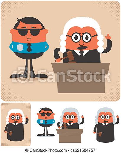 Judge - csp21584757