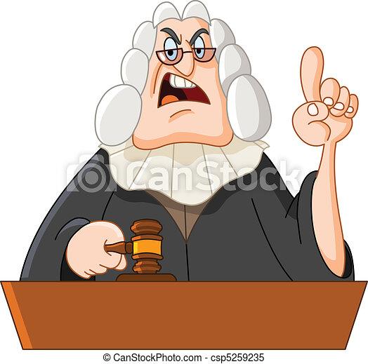 Judge - csp5259235