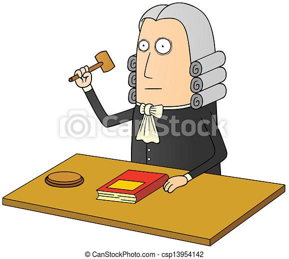 judge - csp13954142