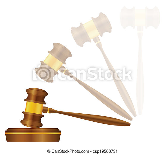 Judge gavel  - csp19588731