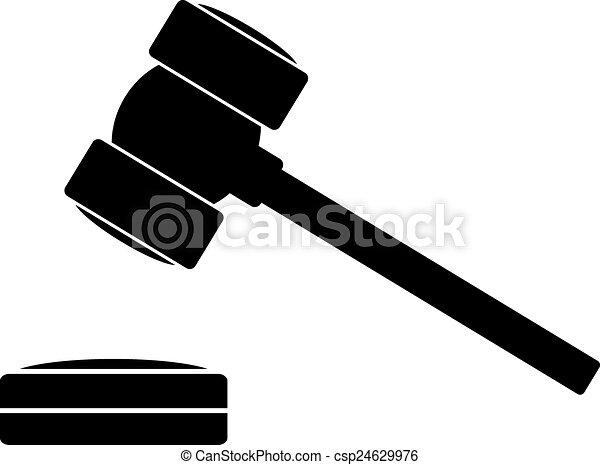 judge gavel icon on white background vector illustration rh canstockphoto com gavel vector art gavel vector image