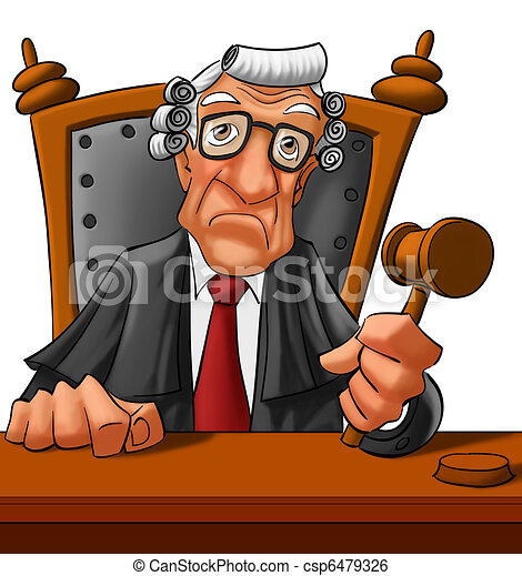old judge looking very serious almost to going a get a vere stock rh canstockphoto com clipart judge hammer clipart judge hammer