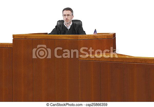 Judge - csp25866359