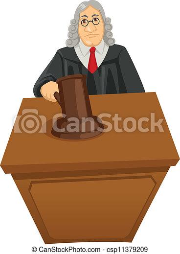 Judge - csp11379209
