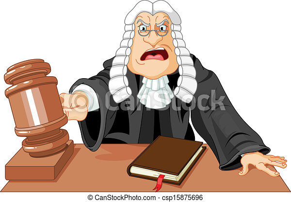 angry judge with gavel makes verdict for law eps vectors search rh canstockphoto com clip art juggling women clipart judge court