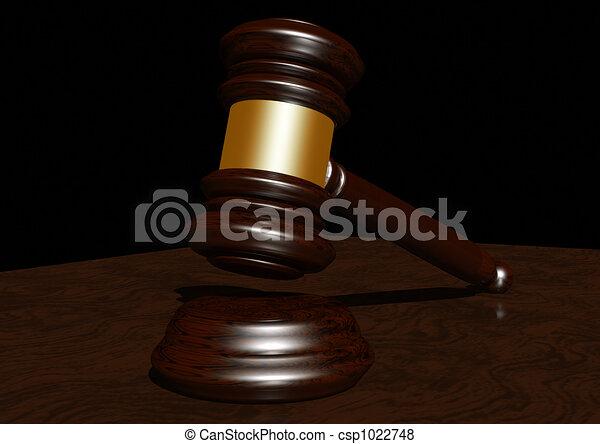 Judges gavel - csp1022748