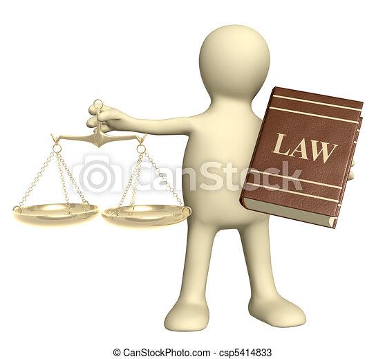 Judicatura - csp5414833