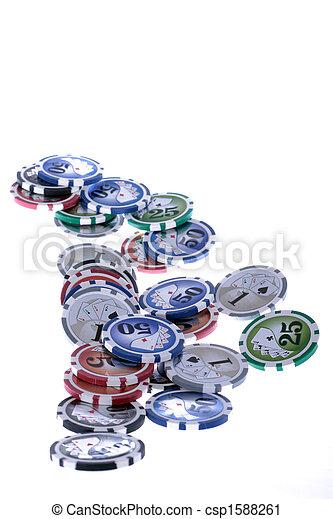 Patatas de casino - csp1588261