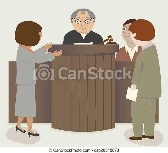 Los abogados del juez - csp20518873