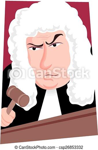 Juez - csp26853332