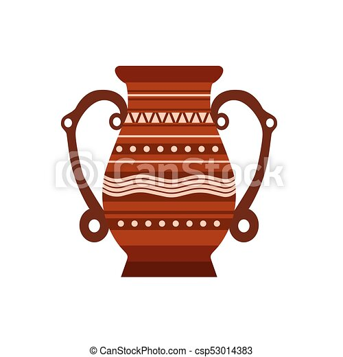Jug Clay Vector Pottery Pot Vase Illustration Ceramic Pither Milk