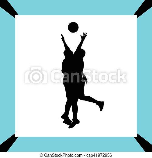 Jugador de baloncesto - csp41972956