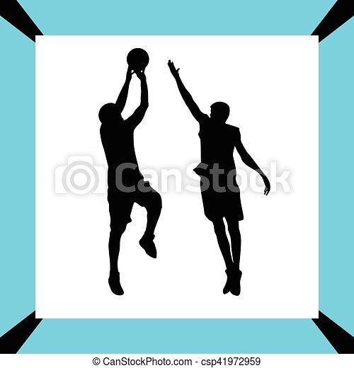 Jugador de baloncesto - csp41972959