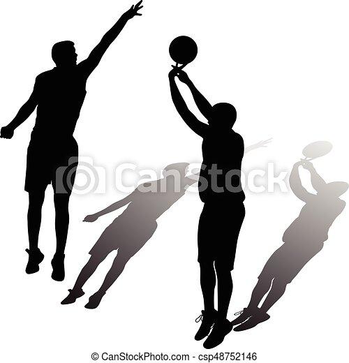 Jugador de baloncesto - csp48752146
