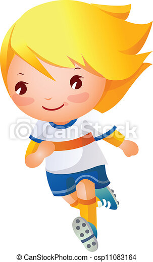 Jugador de fútbol - csp11083164