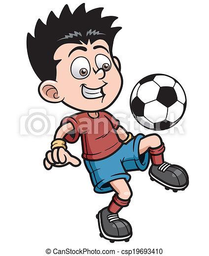 Jugador de fútbol - csp19693410