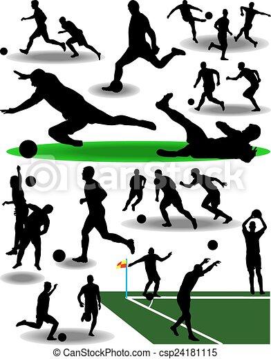 Jugador de fútbol - csp24181115