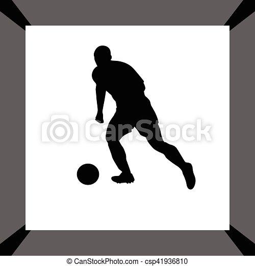 Jugador de fútbol - csp41936810
