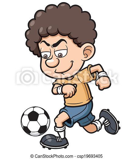 Jugador de fútbol - csp19693405