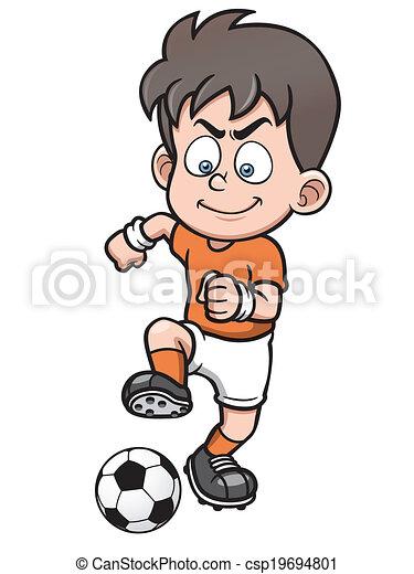 Jugador de fútbol - csp19694801