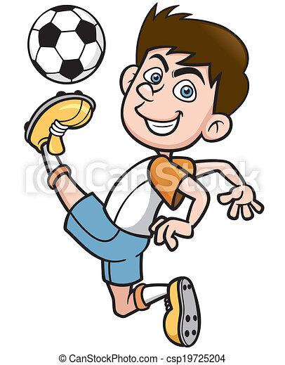 Jugador de fútbol - csp19725204