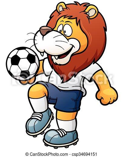 Jugador de fútbol - csp34694151