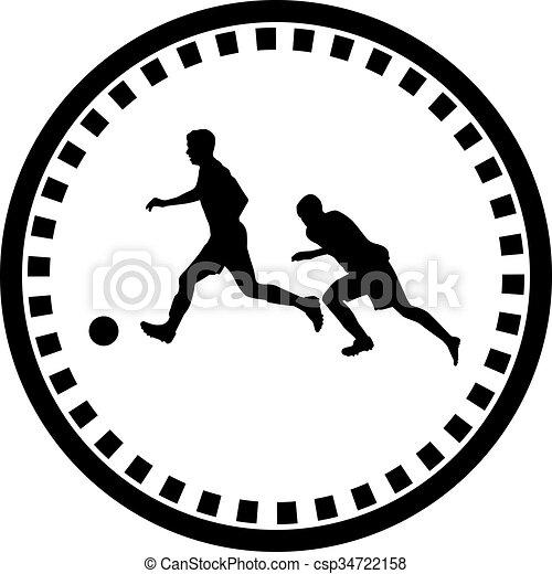 Jugador de fútbol - csp34722158