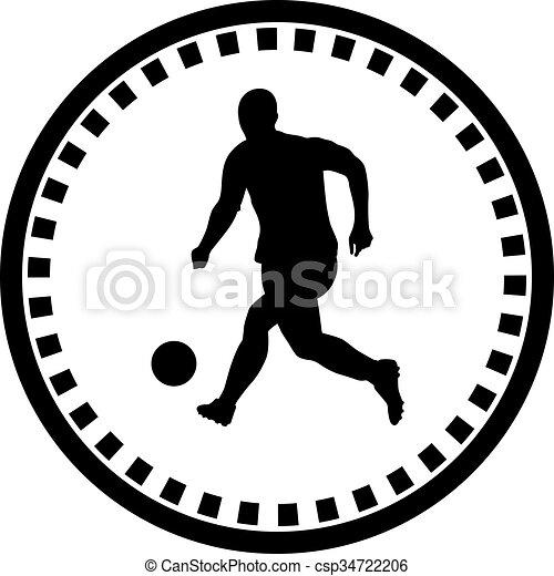Jugador de fútbol - csp34722206