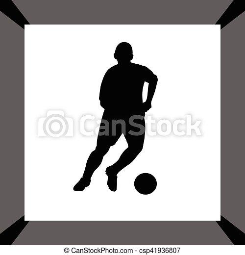 Jugador de fútbol - csp41936807