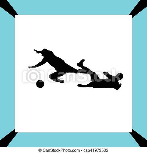 Jugador de fútbol - csp41973502