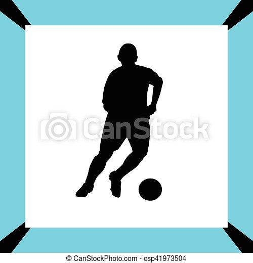 Jugador de fútbol - csp41973504