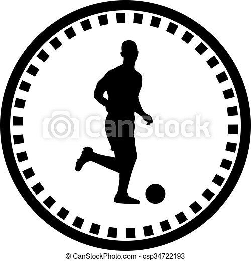 Jugador de fútbol - csp34722193